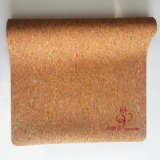 Eco Friendly Soft personnalisé de base de caoutchouc naturel Cork Tapis de Yoga