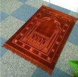 Lo spessore Raschel imprime la moquette della stuoia di preghiera