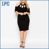 Reizvoll plus Größen-Abend-Partei-Kleid für Frauen