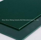 Courroie de transport de PVC Diamond Green avec haute qualité