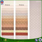 Tissu de rideau en jacquard de polyester tissé par arrêt total ignifuge à la maison de textile