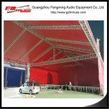 Equipamento de estágio de concerto para sistema de suporte de iluminação