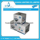 indicatore luminoso bianco del raggruppamento di nuoto subacqueo LED del commercio all'ingrosso PAR56 IP68 di 35W 12VAC RGB/