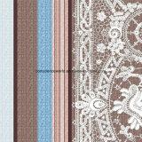 100%Polyester retro Pigment&Disperse intagliato ha stampato il tessuto per l'insieme dell'assestamento