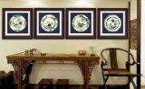 Pintura moderna da decoração da HOME da arte da porcelana da parede chinesa