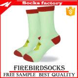 Verkaufende kundenspezifische Spitzensocken für Mann-Frauen-Bambus-Socken