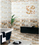 Azulejo interior esmaltado 6D-Inkjet impermeable de la pared de la porcelana para el cuarto de baño (6317)