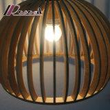 De moderne Retro Houten Lamp van de Tegenhanger voor Eetkamer