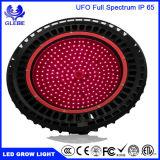 가득 차있는 스펙트럼 최고 UFO 100W 150W 200W LED는 빛 빨간 630nm 모든 야채의 파란 460nm, 이용된 온실 정원을 증가한다