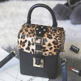 Les sacs en cuir de cadre de léopard de sac à main d'unité centrale de vente chaude pour des dames libèrent le logo Sy8086 de marque