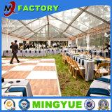 Tiendas blancas transparentes del acontecimiento de la azotea y de la boda del partido de las paredes laterales para la venta