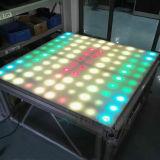 65W段階または結婚披露宴のための屋内100PCS LEDの床タイル