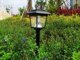 Alto indicatore luminoso solare luminoso del giardino della plastica LED, indicatore luminoso solare LED, indicatore luminoso solare del sensore di movimento