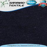 Ringrosso Jersey dell'indaco 210GSM della fabbrica che lavora a maglia il tessuto lavorato a maglia del denim per la maglietta