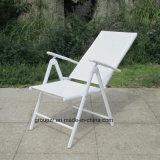 庭の家具のArmrestとFoldable屋外のTextileneの椅子