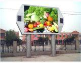 Schermo di visualizzazione esterno diritto libero del LED di colore completo P10mm