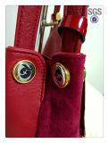 Borsa del Tote della spalla della borsa del cuoio della pelle scamosciata di modo della fabbrica di Guangzhou