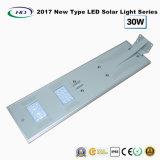 2017 nuevo tipo luz solar toda junta 30W del jardín del LED