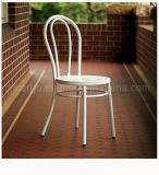 喫茶店のための二重Nデザイン鋼鉄椅子は使用した(CG1651)