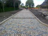 Cobblestone del granito dell'oro di tramonto G682/lastricatori concreti pietra per lastricati per Lansacpe esterno