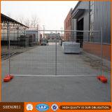 Painéis galvanizados provisórios da cerca do engranzamento de fio