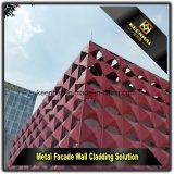 CNCは現代建物のためのアルミニウムパネルを模倣する外面を作った