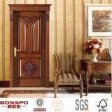 Antique Style Craftsman Bedroom Wood Swing Interior Door (GSP2-014)