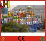 Aufblasbares Schloss, aufblasbare Spaß-Stadt für das Kind-Spielen