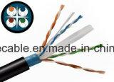 Напольный FTP CAT6 с кабелем посыльного/кабелем компьютера/кабелем данных/кабелем связи/тональнозвуковыми кабелем/разъемом