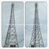 Гальванизированная башня стального сотового телефона угла 4 ног угловая