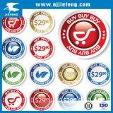ODM het Overdrukplaatje van de Sticker van de Fiets van het Vuil van de Motorfiets ATV