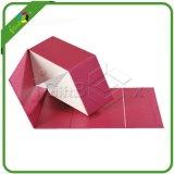 Rectángulo de papel del plegamiento al por mayor profesional de la fábrica