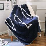 高品質の冬の使用のビロード毛布