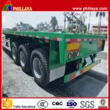 53FT Flatbed Extendable Container Trailer