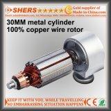 Compressore d'aria portatile dell'automobile con il cilindro del metallo per il gonfiatore della gomma (HL-202)