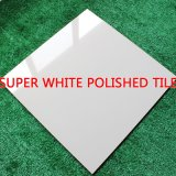 Baumaterial-super weißes volles Karosserien-Polierporzellan-keramische Fußboden-Fliese (SW601A)