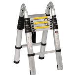 5m de Telescopische Ladder van de Stap met Scharnier