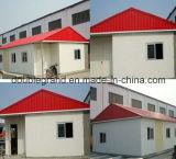 Prefabricado industrial, comercial y residencial de acero de construcción Estructura
