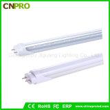 새로운 디자인 매우 밝은 140lm/W 160lm/W 18W T8 LED 관 빛