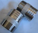 Acier inoxydable 316L du raccord de tuyau flexible ISO7-1 mamelon de tube
