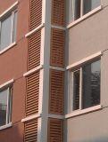 Aluminiumluftschlitz-Fenster für Treppe