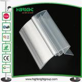 Suporte de etiqueta de preço de PVC de supermercado para prateleiras