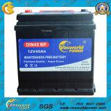 Wartungsfreie Autobatterie DIN75mf der Vasworld Energien-erstklassige Qualitäts12v75ah