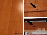 Plancher de parquet machiné supérieur de plancher de parquet de bois dur de chêne de catégorie