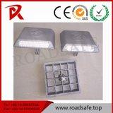 Oeil de Chat de la route d'aluminium réfléchissant Goujon/Entrée marqueur de route