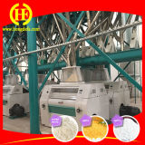 La Zambie exécutant la machine de minoterie de maïs de la qualité 150t