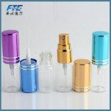 frasco 10ml de vidro para o curso do perfume com pulverizador e atomizador
