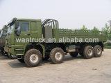 Carro del camión de Sinotruk HOWO 8X8 371HP Zz2307s3577A