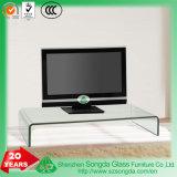 8-12mm verre clair, du verre courbé meuble TV, table basse en verre