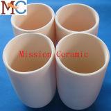 Riscaldatore di ceramica Al2O3 Saggar di ceramica di metallurgia di potere